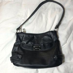 Black STONE MOUNTAIN leather purse